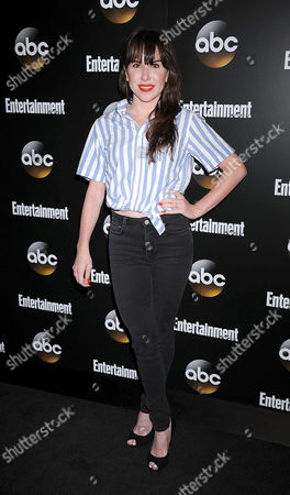 Editorial picture of ABC and Entertainment Weekly Upfront, New York, America - 13 May 2014