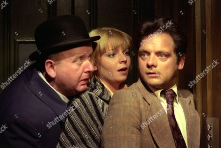Harold Innocent, Cheryl Hall and David Jason