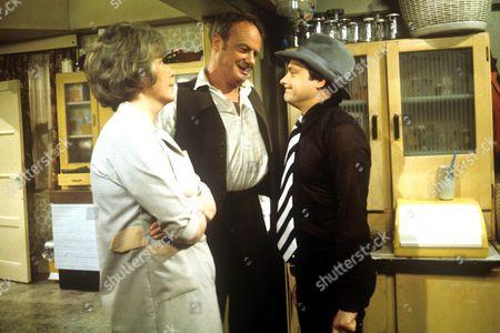 Maggie Jones, Glynn Edwards and David Jason