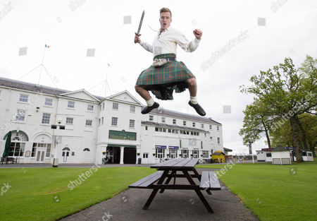"Jai Mcdowall Promoting ""Kilts Go Free"" at Hamilton Park This Friday in Special Offer for Tartan Race Goers"
