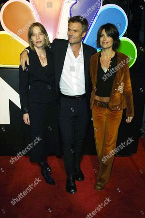 SUSAN DEY WITH HARRY HAMLIN AND LISA RINNA