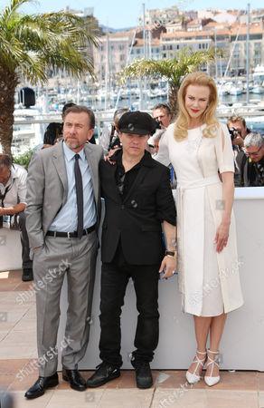 Tim Roth, Olivier Dahan and Nicole Kidman