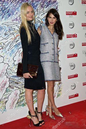 Virginie Courtin-Clarins and Caroline Sieber