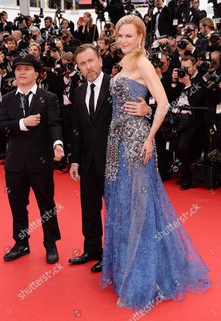Olivier Dahan, Tim Roth and Nicole Kidman