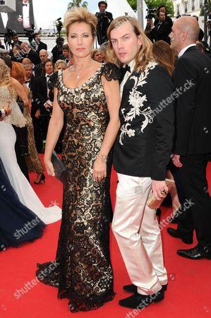 Natacha Amal and Christophe Guillarme