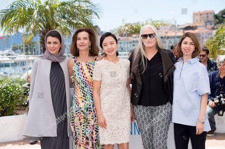 Leila Hatami, Carole Bouquet, Jeon Do Youn, Jane Campion and Sofia Coppola