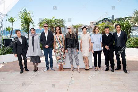 Willem Dafoe, Leila Hatami, Nicolas Winding Refn, Carole Bouquet, Jane Campion, Jeon Do Youn, Sofia Coppola, Jia Zhangke, Gael Garcia Bernal