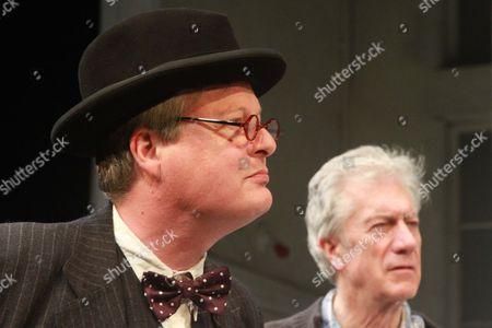 Tristram Wymark as Churchill and Brian Protheroe as Nicholas