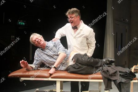 Editorial photo of 'This May Hurt A Bit' play photocall, St. James Theatre, London, Britain - 14 May 2014