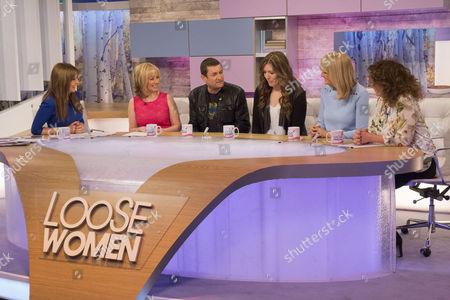 Carol Vorderman, Karen Barber, Paul Heaton, Jacqui Abbott, Jane Moore and Nadia Sawalha