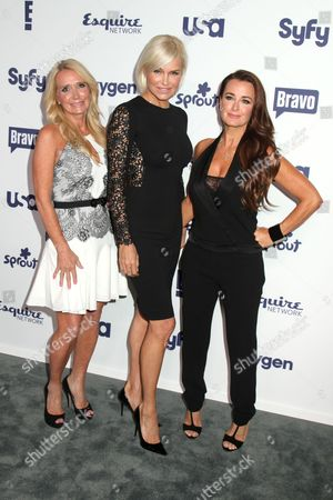 Kim Richards, Yolanda H. Foster and Kyle Richards