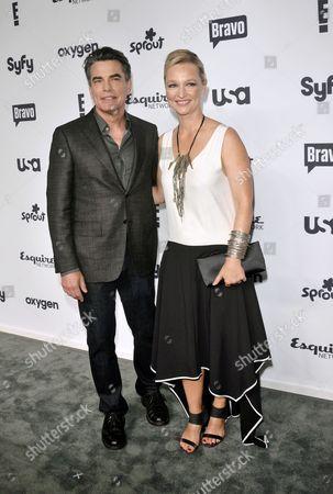 Peter Gallagher and Kari Matchett