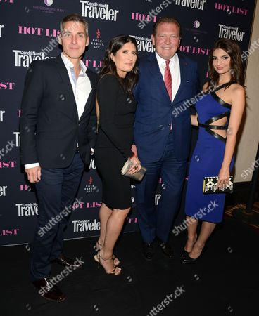 Editorial picture of 18th Annual Conde Nast Traveler Hot List Party, Las Vegas, America - 15 May 2014