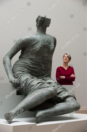 New Presentation Of The World's Greatest Collection Of British Art At Tate Britain. Penelope Curtis Director Of Tate Britain In The New Henry Moore Room At The Launch Of The Exhibition Today Picture By Glenn Copus Ii.