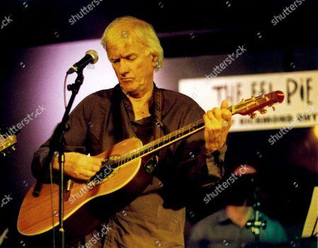 Stock Photo of Jim McCarty's Flipside - Jim McCarty in concert at the Eel Pie Club, Twickenham