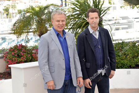 Slava Fetisov and Gabe Polsky