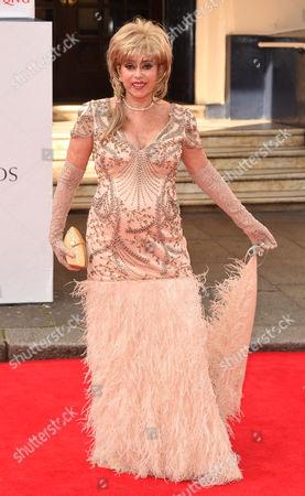 Editorial photo of Arqiva British Academy Television Awards, arrivals, Theatre Royal, London, Britain - 18 May 2014