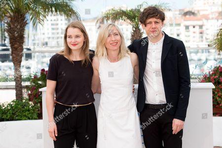Birte Schnoeink, Jessica Hausner, Christian Friedel