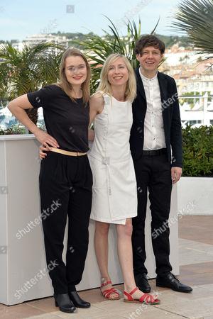 Jessica Hausner, Christian Friedel and Birte Schnoeink