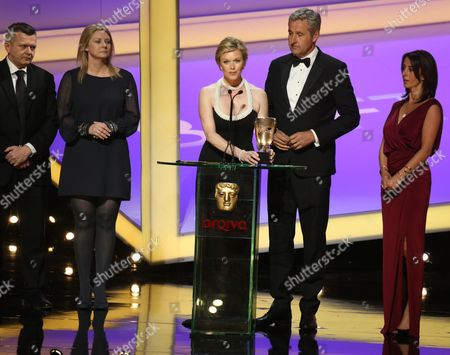 Editorial picture of Arqiva British Academy Television Awards, show, Theatre Royal, London, Britain - 18 May 2014