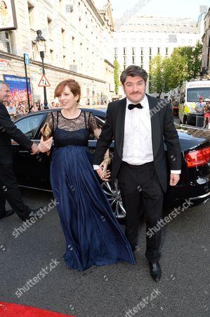 Katherine Parkinson and Harry Peacock