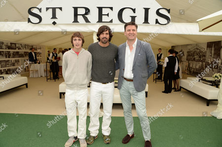Henrique Hilario Figueras, Nacho Figueras and Paul James