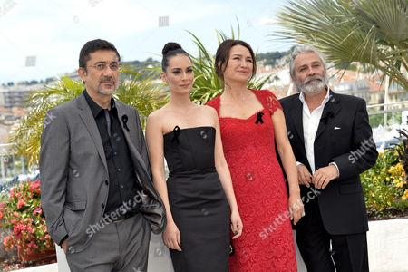 Nuri Bilge Ceylan Director, Melisa Sozen, Demet Akbag, Haluk Bilginer
