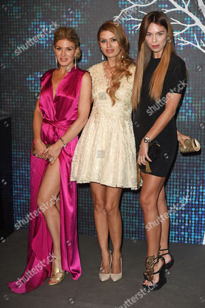 Hofit Golan, Victoria Bonya and Liliana Nova