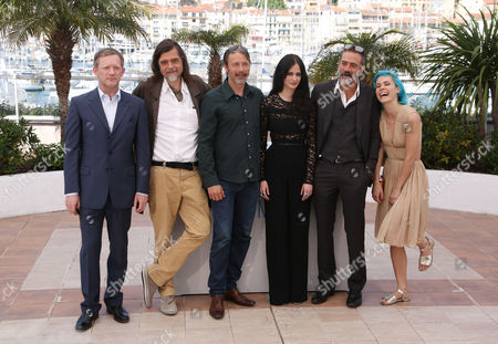 Douglas Henshall, Kristian Levring, Mads Mikkelsen, Eva Green, Jeffrey Dean Morgan and Nanna Oland Fabricius