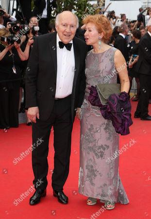 Stock Picture of Michel Piccoli and Ludivine Clerc