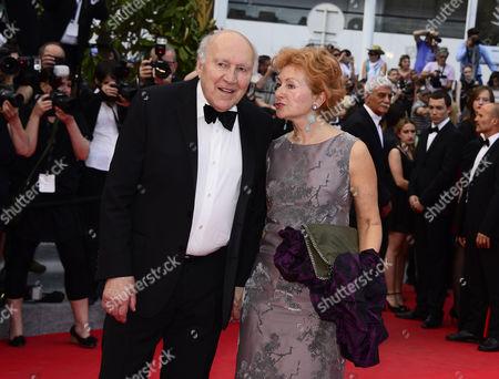 Michel Piccoli and guest