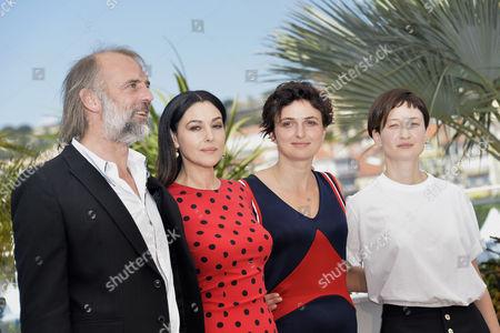 Sam Louwyck, Monica Bellucci, Alice Rohrwacher, Alba Rohrwacher,