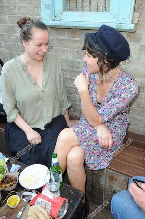 Samantha Morton and Jess Morris