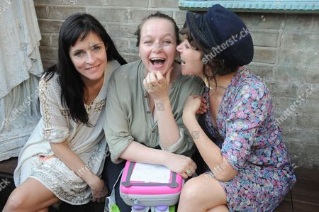Juliette Larthe, Samantha Morton and Jess Morris