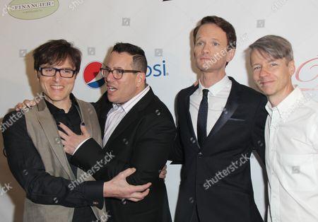 Stephen Trask, Michael Mayer, Neil Patrick Harris and John Cameron Mitchell