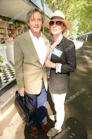 Nigel Havers and Rita Webb - Cloudy Bay Sensory Garden