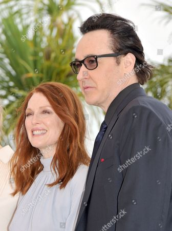 Stock Photo of Julienne Moore and John Cusack