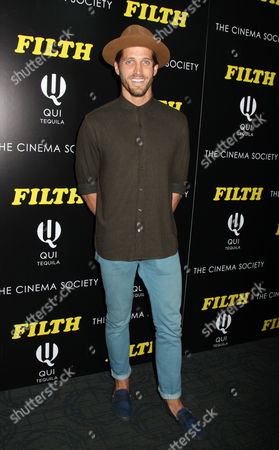 Editorial image of 'Filth' film screening at the Cinema Society, New York, America - 19 May 2014