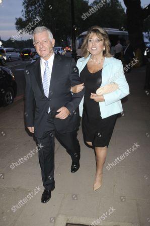 Nicholas Lloyd and Eve Pollard