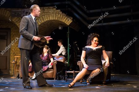 Editorial photo of 'Fings Ain't Wot they Used T'be' musical at the Theatre Royal Stratford East, London, Britain - 16 May 2014