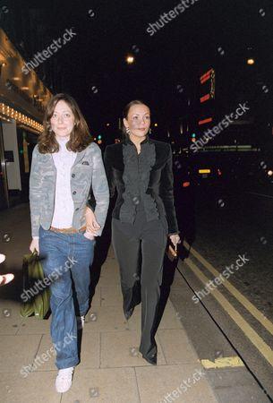 MISS DEE AND MARTINE McCUTCHEON