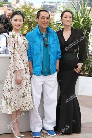 Huiwen Zhang, Zhang Yimou and Gong Li