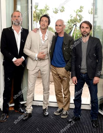 Sam Louwyck, Adrien Brody, Lee Tamahori and Michael Pas