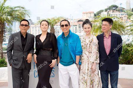 Daoming Chen, Li Gong, Yimou Zhang, Huiwen Zhang and Zhang Zhao