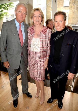 Galen Weston, Hilary Weston and Viscount David Linley