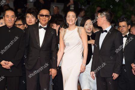 Zhang Yimou, Chen Daoming, Gong Li and Zhang Zhao