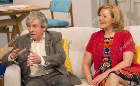 Melvyn Hayes and his wife Jayne