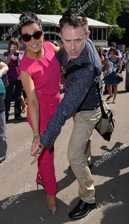 Susanna Reid with Chris Jarvis