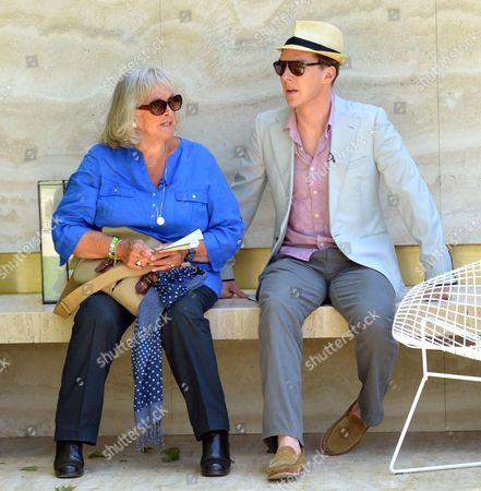Benedict Cumberbatch and mother Wanda Ventham