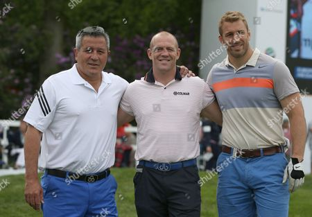 Zinzan Brooke, Mike Tindall and Chris Robshaw